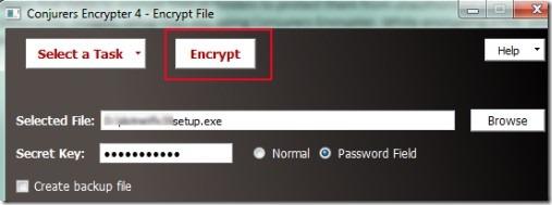 Conjurers Encryption 01 encrypt, decrypt files