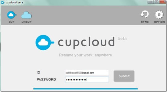 Cupcloud 02 save your documents