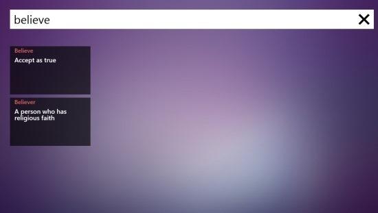 Dictionary App For Windows 8