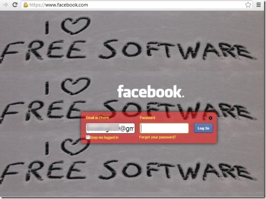 FB Refresh 03 customize Facebook login page
