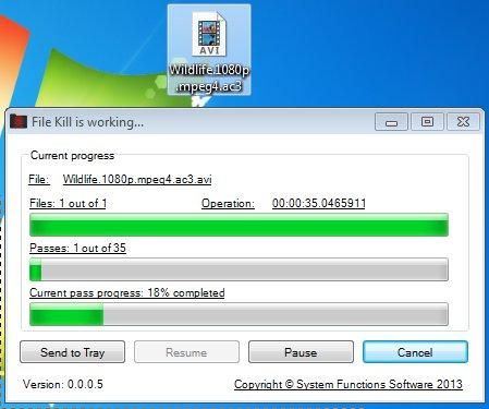 FileKill deleting files