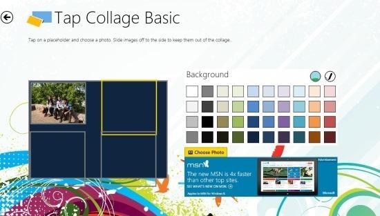 Free Windows 8 Collage App