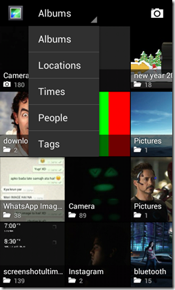 Gallery ICS views option