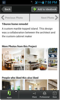 Houzz information
