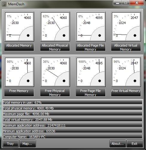 LeeLu Monitors AIO mem dash