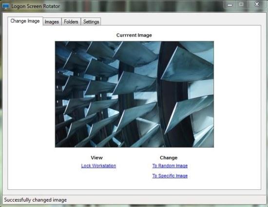 Logon Screen Rotator change image