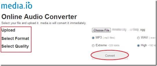 Media.io 01 online convert audio files