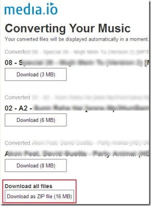 Convert Audio Files Online To MP3, WAV, OGG, WMA With Media io