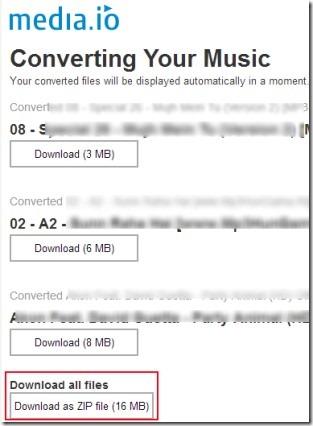 Media.io 02 online convert audio files