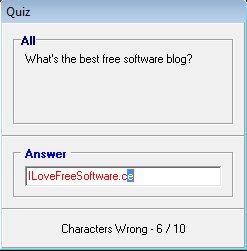 Memoriser answering questions