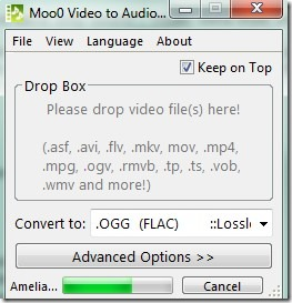 Moo0 Video to Audio 01 video file conversion