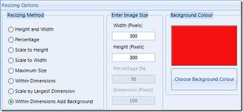 Multiple Image Resizer.NET 05 resize images in batch