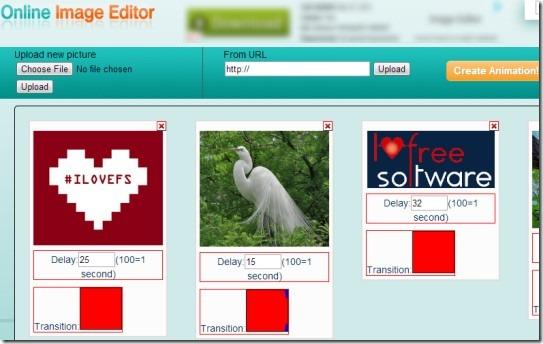 Online Image Editor Gif Maker 01 make animated gifs