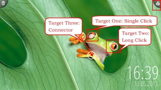 Picword targets
