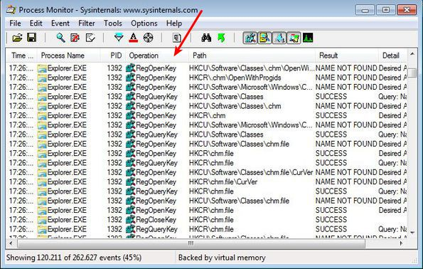 Keep Track Of Windows System Activity With Process Monitor