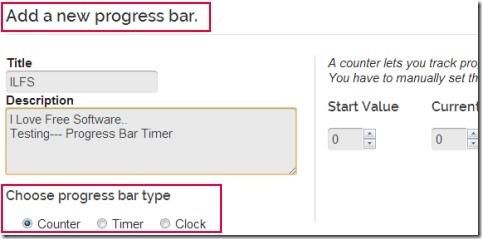 Progress Bar Timer 02 create progress bar