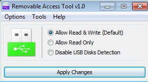 Ratool default window