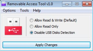Ratool turn off detection USB