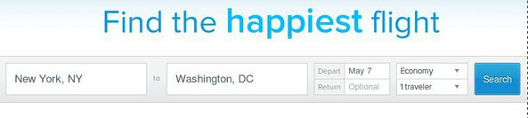 RouteHappy default window