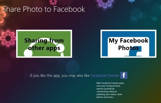 Share Photo To Facebook In Windows 8