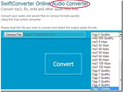 SwiftConverter 03 online files converter