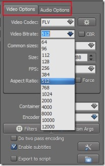 TEncoder Video Converter 03 batch audio video converter