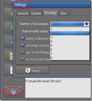 TEncoder Video Converter 04 batch audio video converter