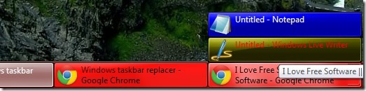 TaskBow 01 customize Windows taskbar