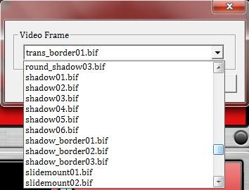 Video Frame To WMV frame list