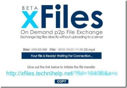 xFiles 02 peer-to-peer file sharing