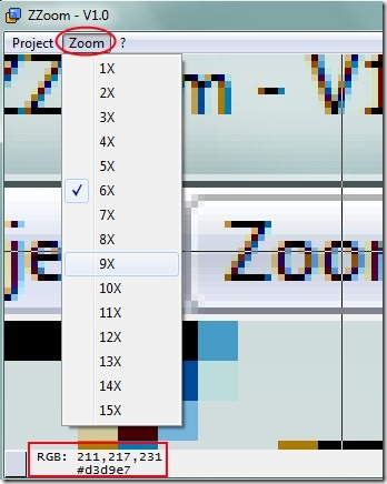 ZZoom 02 computer screen magnifier