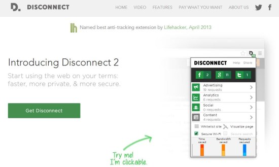 disconnect 2 interface