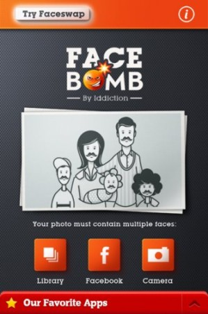 face bomb homepage