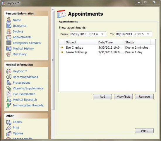 heydoc appointments