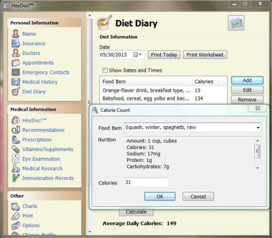heydoc diet dairy