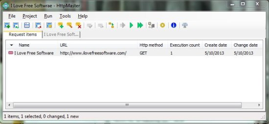 httpmaster project