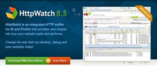 httpwatch interface