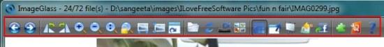 imageglass toolbar