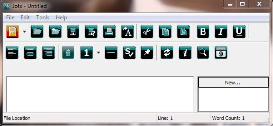 jotx interface