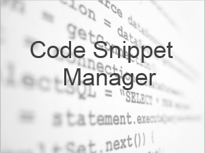 snippet manager featured