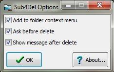 sub4Del interface