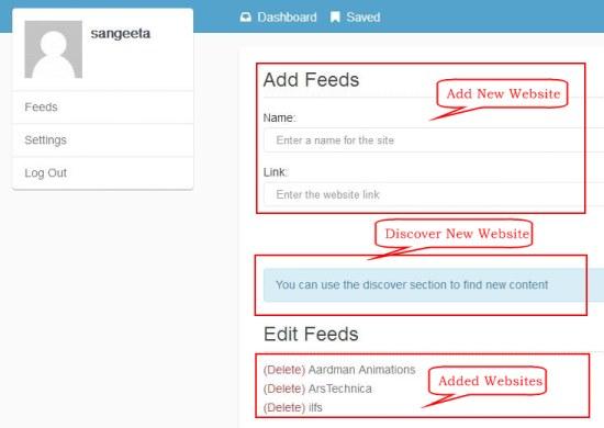 syndifeed add feeds