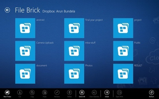 windows 8 file manager file brick