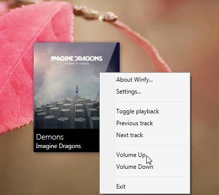 winfy context menu