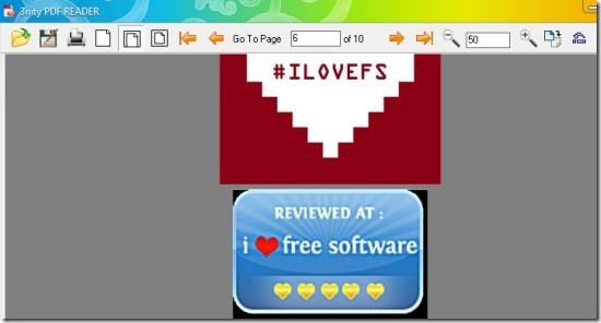 3nity PDF Reader for Windows 01