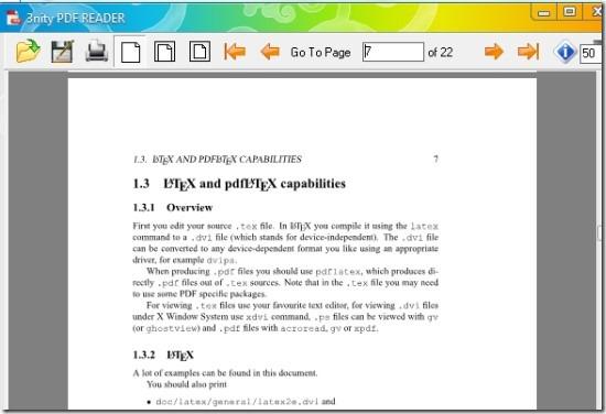 3nity PDF Reader for Windows 03
