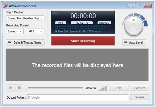 AVS-Audio-Recorder