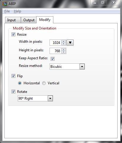 Acute Batch Image Processor modify