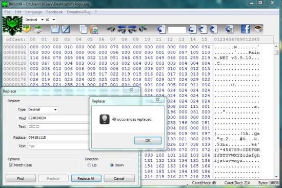 BitEdit9 file edit 01