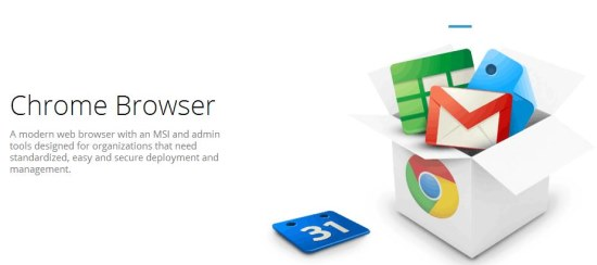 Chrome for Business interface